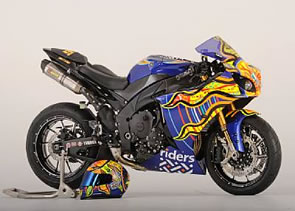 Valentino Rossi Motorcycle to be Auctioned for Riders For Health Charity