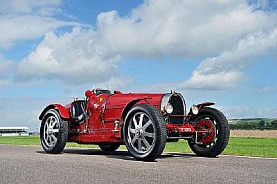 Lord Raglan Bugatti Type 51 for Bonhams Paris Auction