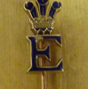 Edward Prince of Wales Tie Pin for Richard Winterton Lichfield Auction