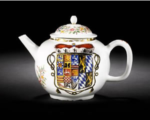 Bonhams to Sell Meissen Teapot Once Owned by Mother of George I