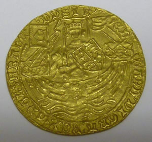 MEDIEVAL COIN DISCOVERY FOR RICHARD WINTERTON AUCTION