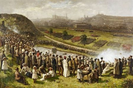 Gemmell Hutchison Painting of Edinburgh Review for Auction