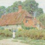 Helen Allingham Watercolour for Bonhams 19th Century Pictures Auction