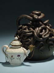 Skinner's Auction of European Furniture and Decorative Arts to Feature Large Collection of Wedgwood Wares; Highlights Include Anna Pottery Snake Jug and Vezzi Teapot