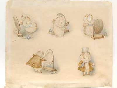 Rare Signed Beatrix Potter Illustrations for Bonhams & Butterfields Auction on February 13th