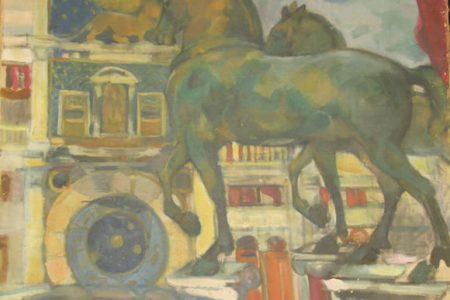 ORIGINAL OIL ON CANVAS PAINTING BY RUSSIAN ARTIST BORIS ISRAELEVICH ANISFELD (1879-1973) REALIZES $93,225 AT PHILIP WEISS AUCTIONS, JAN. 21st-23rd