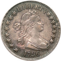 1796 15 Stars Half Dollar brings $207,000 at Heritage Auctions
