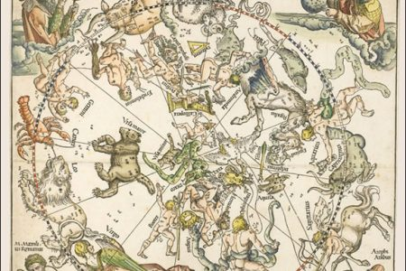 Albrecht Durer Star Charts for Sotheby's Prints Auction