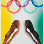Allen Jones Poster Design For 1972 Munich Olympic Games for Auction at Bonhams