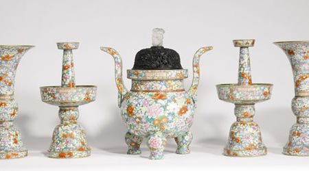 Chinese Porcelain and Works of Art Auctioned at Sotheby's New York