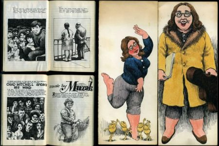 FANTASTIC ARCHIVE OF MATERIAL PERTAINING TO COUNTERCULTURE CARTOONIST ROBERT CRUMB FETCHES $16,950 AT PHILIP WEISS AUCTIONS