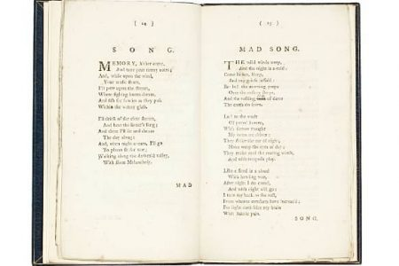 Rare Book of Poems by William Blake for Auction at Bonhams