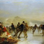 Sotheby's to Auction Scottish Skating Scene Painting by Charles Lees