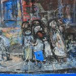 Joan Eardley Painting for Auction at Bonhams