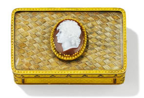 Sotheby's to Auction European Silver, Gold Boxes & Objects of Vertu in Paris