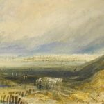 Bonhams to Auction Oyster Beds at Whitstable WaterColour by J.M.W Turner
