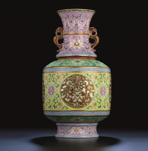 Qianlong Revolving Vase to be Auctioned at Christie's Hong Kong