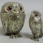 Silver Owls for Richard Winterton Lichfield Auction