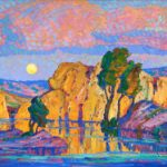 Birger Sandzen Late Moon Rising brings $262,900 at Heritage Fine Art Auction