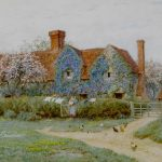 Helen Allingham Buckinghamshire Cottage Watercolour to be Auctioned at Bonhams
