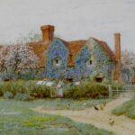 Helen Allingham Buckinghamshire Cottage Watercolour to be Auctioned at Bonhams