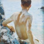 Henry Scott Tuke Beautiful Boys Paintings to Sell at Bonhams