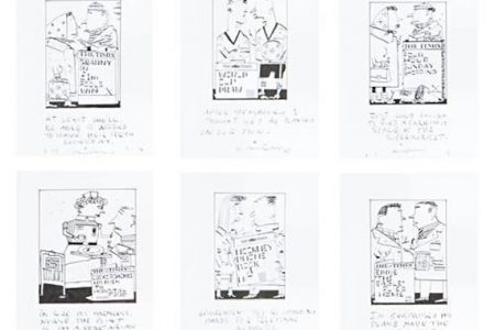 Cartoonist Barry Fantoni to Auction Times Archive at Bonhams in London