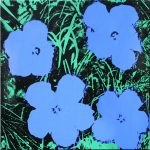 artnet Auction Andy Warhol Flowers Painting for Over US 1.3 Million