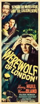Werewolf of London Poster Brings $47,800 at Heritage Auctions