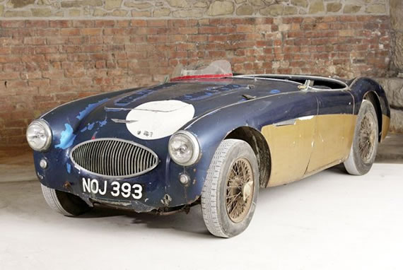 1953 Austin-Healey 100 Special Test Car Auctioned for £843,000 at Bonhams