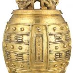 Chinese Gilt-Bronze Bell Auctioned at Doyle New York Asian Art Sale