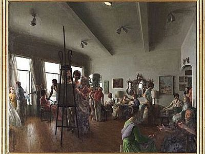 Gray's Auctioneers to Auction John Koch Painting