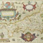 First Printed Map of Cornwall Auctioned at Bonhams