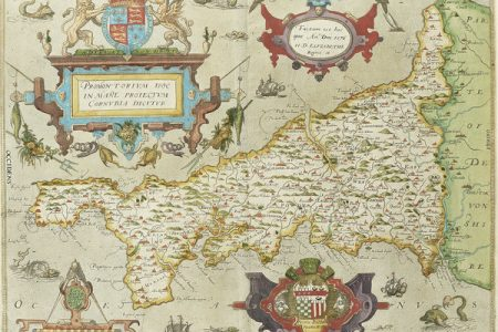 First Printed Map of Cornwall Auctioned at Bonhams