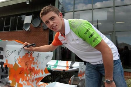 RM to Auction Force India Formula One Car