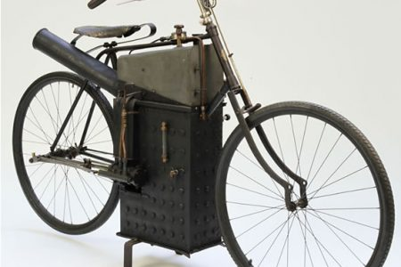 Auctions America to Offer 1894 Roper Steam Powered Motorcycle
