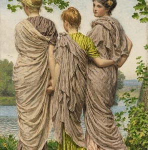 Sotheby's London to Auction Waiting to Cross by Albert Moore in Victorian & Edwardian Art Sale