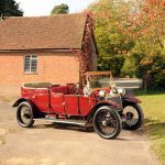 Maharajah Of Rewa 1912 Lanchester 38HP State Limousine For Auction At Bonhams
