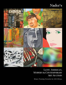 Gary Nader Announces  Latin American, Modern and Contemporary Art Auction for December 1st