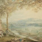 Bonhams to Auction JMW Turner Painting of Kirkby Lonsdale Churchyard
