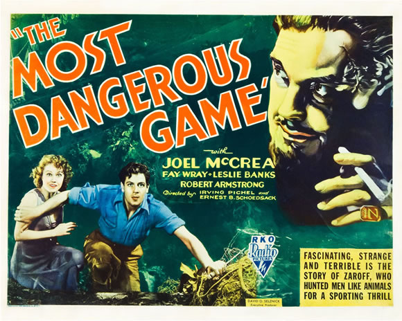 Image result for images of the most dangerous game, movie