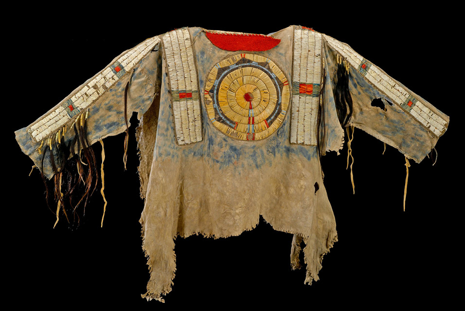 Cheyenne quilled shirt Leads Bonhams Native American Art Auction ...