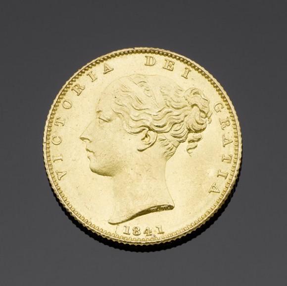 1841 Sovereign Makes New World Record at Bonhams