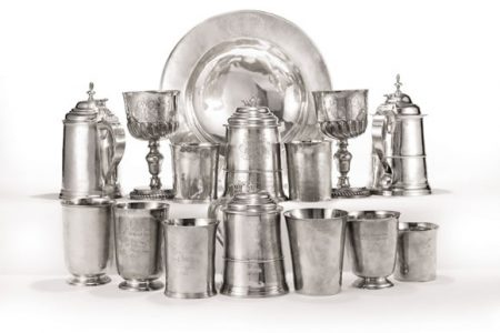 Sotheby's to auction American silver from First Parish Church in Dorchester, MA