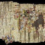 New World Map by El Anatsui for Bonhams Africa Now auction on 23rd May