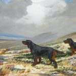 31 Dog Paintings by Reuben Ward Binks from Bolton for auction at Bonhams