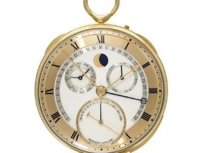 Sotheby's to auction George Daniels personal collection of clocks and watches in London