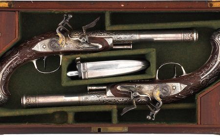 Bonhams to auction pistols owned by Lt. Col. Alexander Ross