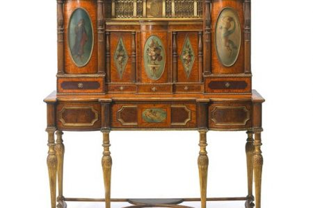 Bonhams to Auction Secretaire reputedly for King Charles IV of Spain