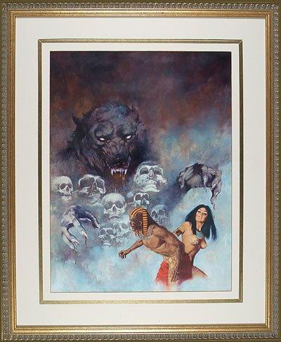 REA Auction Offers Vampirella Cover Art, Mars Attacks Card Paintings !